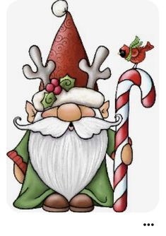 Christmas Rock, Christmas Gnome, Christmas Projects, Christmas Clipart, Christmas Printables, Christmas Paintings, Christmas Drawing, Painted Rocks Kids, Fairy Pictures