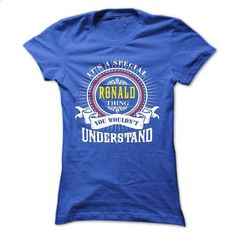 RONALD .Its a RONALD Thing You Wouldnt Understand - T S - #christmas tee #tshirt makeover. CHECK PRICE => https://www.sunfrog.com/Names/RONALD-Its-a-RONALD-Thing-You-Wouldnt-Understand--T-Shirt-Hoodie-Hoodies-YearName-Birthday-41031902-Ladies.html?68278