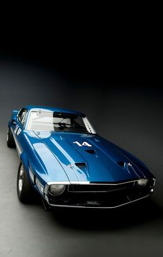 You will ❤ MACHINE Shop Café... ❤ Best of Ford @ MACHINE ❤ (The 1969 Ford Shelby GT350 SCCA B-Production Race Car)