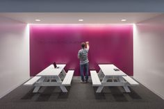 Magenta!  Inside Lithiums Collaborative San Francisco Headquarters