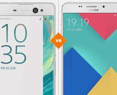 Xperia XA Ultra ou Galaxy A9: qual celular grande comprar? (Foto: Arte/TechTudo)