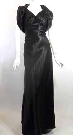 Gorgeous 30s vintage gown