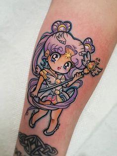 Tattoos Skull, Anime Tattoos, Leg Tattoos, Body Art Tattoos, Tattoo Drawings, Kawaii Tattoos, Luna Tattoo, Hip Tattoo Designs, Tattoo Designs For Women