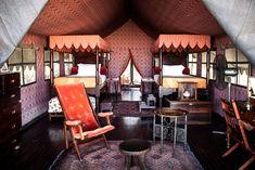 Oasis of silence and style in the middle of Botswana's Kalahari Desert... Jack's Camp, Makgadikgadi Pans, Botswana