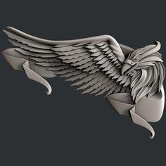 3d STL models for CNC router eagle | Etsy Marine Tattoo, Stl File Format, 3d Cnc, Harley Davidson Logo, Eagle Tattoos, Cnc Router, Router Woodworking, Tattoo Stencils, Art Model