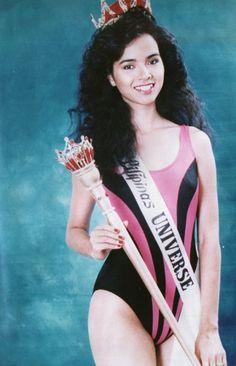 Sarah Jane Paez BB Pilipinas Universe 1989