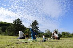 Yoga in Nature Yoga Retreat in Norikura 乗鞍の大自然でヨガ