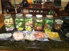 If you're like me, you don't always have the time to prepare/cook healthy and delicious meals, particularly during the weeknights. When I saw this blog on Pinterest, I thought it was the greatest i...