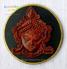 Maa Durga - Incredible India Cake Collaboration - cake by Mahua's Fresh From Oven India Cakes, Unity In Diversity, Durga Maa, Artist Names, Incredible India, Daily Inspiration, Collaboration, Cake Decorating, Oven
