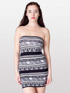 Cotton Spandex JerseyToo-Short Tube Dress