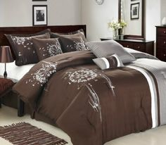 Wonderful Oversized King Bedding With Mirror Dressers And Many Pillow