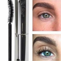 Curl & Lash Mascara, by Nu Skin. Here is a before and after of a customer! Nu Skin Mascara, Curling Mascara, Mascara Tips, How To Apply Mascara, Applying Mascara, Curl Lashes, Eyelashes, Eyelash Extension Removal, Eyelash Extensions Before And After
