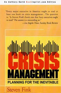 This is THE handbook on Crisis Management.