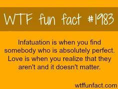 Infatuation vs. Love
