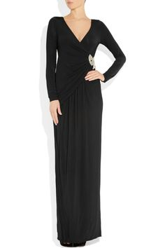 ALICE by Temperley|Marilyn beaded stretch-jersey gown|NET-A-PORTER.COM