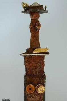 Haute Marne, Anglo Saxon, Dark Ages, Saint, Fountain, Axe, Swords, Mobiles, Outdoor Decor