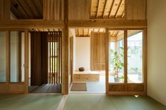 Tatami mats create gridded layout for Tokmoto's Inari House