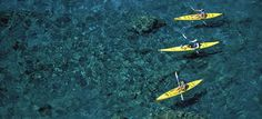 Kayaking, Hulopoe Bay #hawaii - Click for travel tips including how to get to Lanai