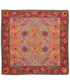 Liberty London Pink Hera Print Silk Scarf | Scarves by Liberty London | Liberty.co.uk