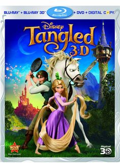 Tangled (Four-Disc Combo: Blu-ray 3D / Blu-ray / DVD / Digital Copy)  $34.99