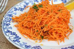 Salade de carottes râpées - David Lebovitz