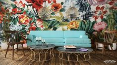 """Full picture of """"tropical 02"""" by #Triametry - - - - #architecture #design #tropical #blue #cgi #Cinema4D #Vray #C4D #hotel #CostaRica #Ecologic #Arquitectura #diseño #bluesofa #archilovers #architecturelovers #beach #playa #studio #flowers #chair #photoshop #arquitectura @rsa_graphics #diseñointerno #renderizer #instarender #costarica by triametry"""