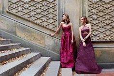 oscar de la renta party dresses, chic, feminine look