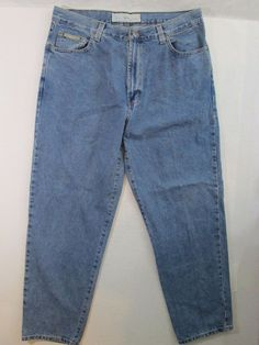 Natural Issue Men's Jeans Zip Fly 100% Cotton Measures True Size 36X32 #432 #NaturalIssue #ClassicStraightLeg