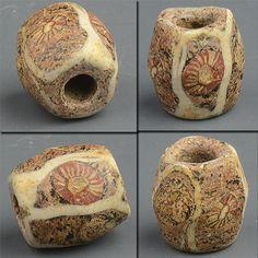 Ancient Islamic era glass bead.
