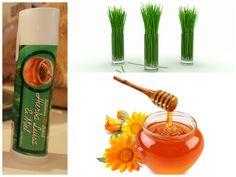 Bálsamo Labial - Lip Balm de Hierba Luisa & Miel - Lemongrass & Honey