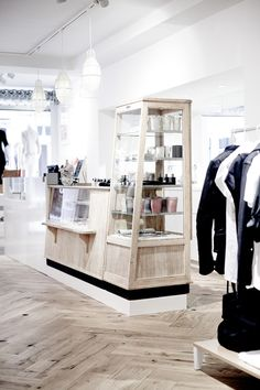 denim brand denham once again expands its retail empire, this time with a dedicated women's store on home turf.