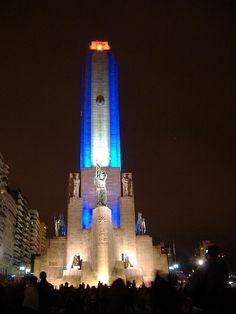 Monumento a la Bandera, Rosario, prov. Santa Fe, Argentina