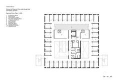 School Of Arts In Canterbury,plan 03