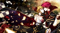Battler and Beatrice | Umineko