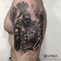 Φ Artist ZOEN Φ Info & Citas: (+34) 93 2506168 - Email: info@logiabarcelona.com #logiabarcelona #logiatattoo #tatuajes #tattoo #tattooink #tattoolife #tattoospain #tattooworld #tattoobarcelona #tattooistartmag #ink #arttattoo #artisttattoo #inked #inktattoo #tattoocolor #tattooartwork #realismo #realism #realismtattoo #gladiator