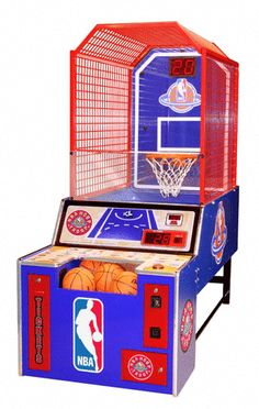 Buy Basketball Arcade Games Online - The Pinball Company Arcade Basketball, Indoor Basketball Hoop, Basketball Games For Kids, Fantasy Basketball, Basketball Goals, Basketball Shoes, Basketball Court, Basketball Birthday, Arcade Game Room