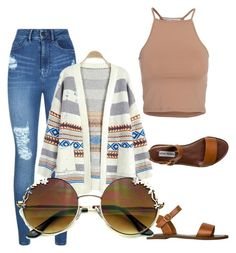 """""""Untitled #7"""" by kailynmelissa-1 on Polyvore featuring NLY Trend, Lipsy and Steve Madden"""
