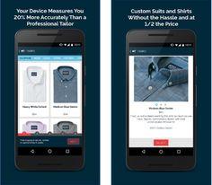 MTailor é um app para caras que precisam comprar camisas e ternos, mas não curtem fazê-la em lojas físicas. A marca promete entregá-los personalizados e ajustados em qualquer parte do mundo sem precisar passar pelo alfaiate. Saiba como. #MTailor #apps #aplicativos #tecnologia #tech #moda #modamasculina #modaparahomens #fashion #mensfashion