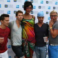 "Equality Summer Splash in Provincetown, MA   Photo from the American Express Equality Summer Splash with Raja, winner of ""Rupaul's Drag Race"" and the 2011 America's Next Drag Superstar. The fundraising event raised awareness for the Human Rights Campaign that fights for equality for all, and wrapped up our summer-long American Express ""Shop Small"" campaign."