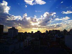 sunset. - auch in der Stadt hat ein Sonnenuntergang seinen Reiz