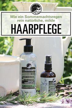 Wie ein Sommernachtsregen. Reine Natur für gesundes, kräftiges Haar: Unsere Haarpflegeprodukte stärken das Haar genau dort, wo es am wirksamsten ist: nämlich an der Kopfhaut. Hydrolate und durchblutungsfördernde ätherische Öle sorgen für eine gesunde Kopfhaut, fülliges, glänzendes Haar, leichte Kämmbarkeit und langanhaltende Frische.  Ganz ohne aggressive Tenside und künstliche Inhaltstoffe. Reine Natur von Hand hergestellt und abgefüllt in Österreich. #haarshampooohnesilikon… Soap, Personal Care, Surgery, Shiny Hair, Natural Skin Care, Healthy Skin, Beauty Tutorials, Organic Beauty, Self Care