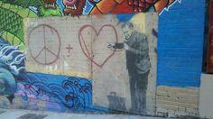 Banksy in SF.