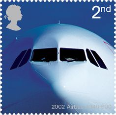 Great Britain - Airliners / Anniversary of Passenger Jet Aviation - Airbus Aviation World, Jet Aviation, Postage Stamp Design, Postage Stamps, Uk Stamps, Royal Mail Postage, British Overseas Territories, Commemorative Stamps, Penny Black