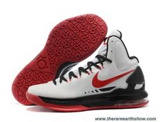 Nike Zoom KD V White Black Red 554988 102 Sale