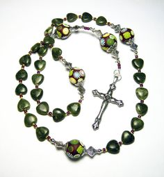 SOLD!  Anglican Protestant Prayer Beads Rosary Women by SweetchildJewelry, $38.00