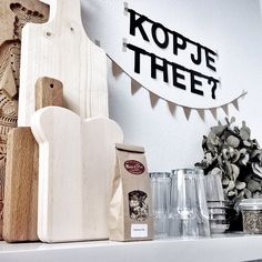 #Wordbanner #tip: Kopje #thee- Buy it at www.vanmariel.nl - € 11,95