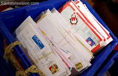 Lettere in arrivo all'Ufficio Postale Centrale di Babbo Natale a Rovaniemi in Lapponia