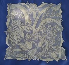 Needle Lace, Antique Lace, Hand Embroidery, Embroidery Ideas, Barbie Dolls, Cross Stitch, Throw Pillows, Quilts, Sewing