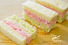 How to Make Ribbon Finger Sandwiches | Cottage at the Crossroads