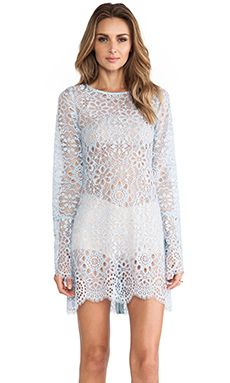 LOVE BIRDS lace dress